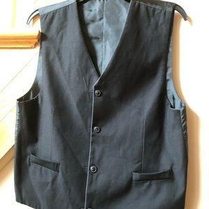 Teen boys dress vest